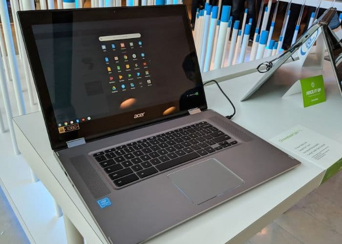 Chromebook Spin 15