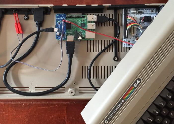 Combian 64, Raspberry Pi Converted Commodore 64 Retro PC