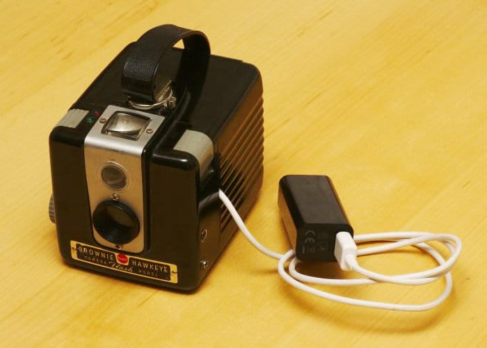 Kodak Box Brownie Camera Converted To Digital Using Raspberry Pi Zero Mini PC