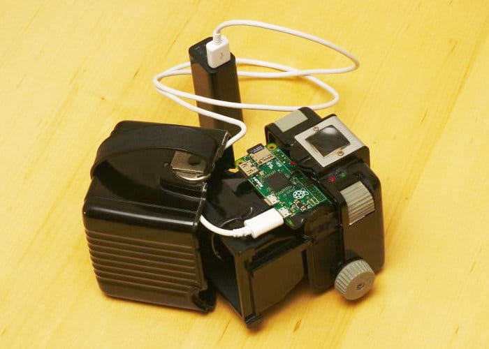 Kodak Box Brownie Camera Pi Zero Mini PC