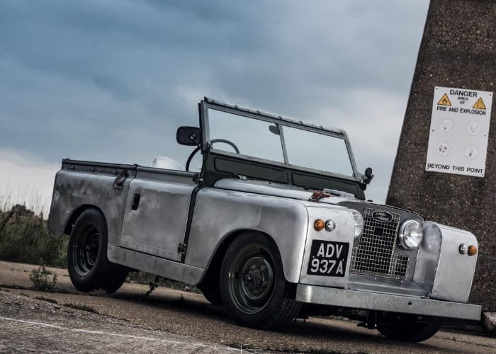 Land Rover Series IIA Slammed