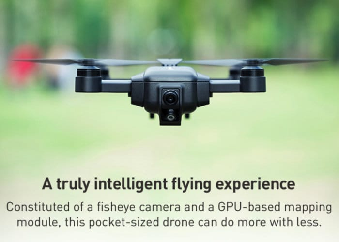 Mark Drone With Visual Inertial Odometry Positioning Technology