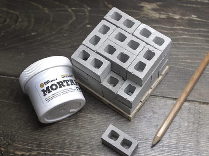 Mini Materials Miniature Cinder Blocks