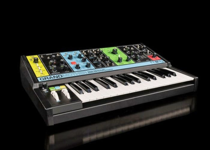 Moog Grandmother Retro Inspired Semi-Modular Analog Synthesizer