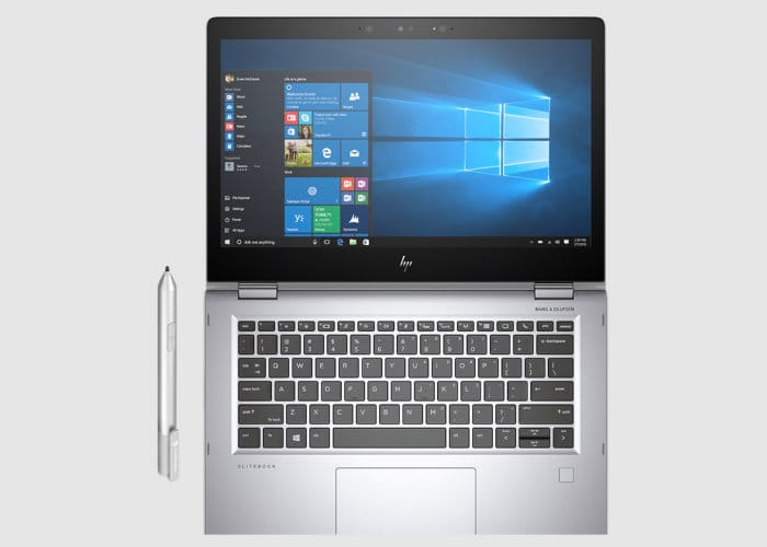 New HP EliteBook x360 2018 Laptop