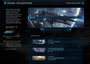 New Star Citizen Ship Game Bundle Costs A Staggering $27,000