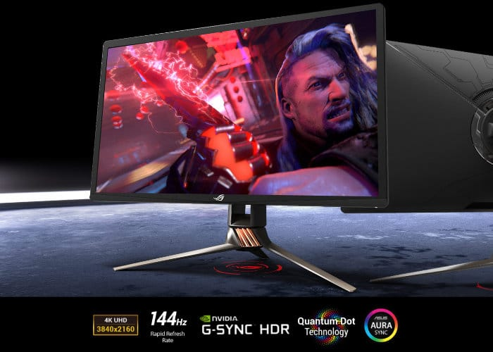 Nvidia 4K 144Hz HDR G-Sync Monitors