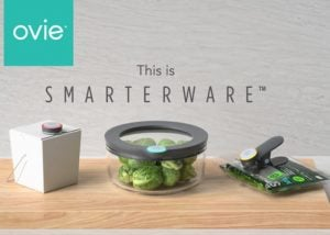 Ovie Smart Connected Food Storage System With App And Alexa Support