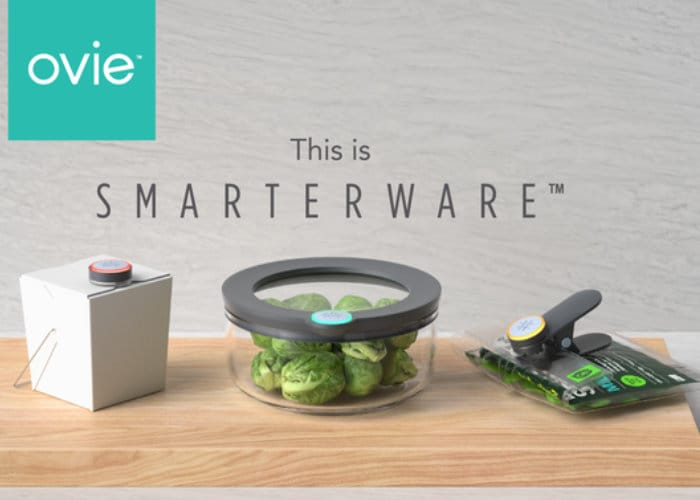 Ovie Smart Connected Food Storage System