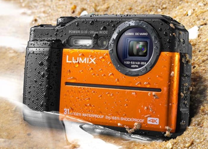 Panasonic Lumix FT7 With Integrated Electronic Viewfinder