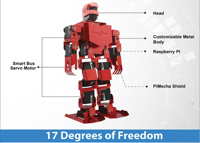PiMecha Raspberry Pi Robot Kit