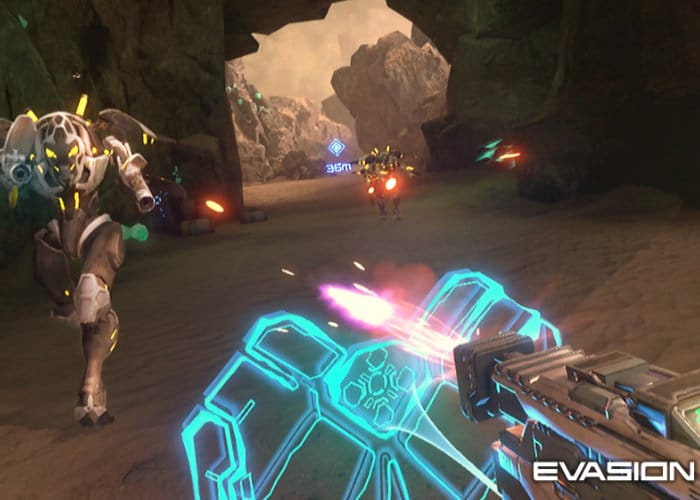 PlayStation VR Shooter Evasion