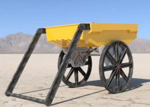 Polymule Cart All-Terrain Hauler With Uphill Assist