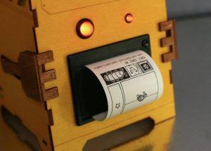 Raspberry Pi Robot Randomly Prints Comic Strips For Your Amusement