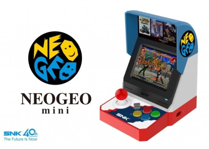SNK Neo Geo Mini Portable Retro Arcade Game