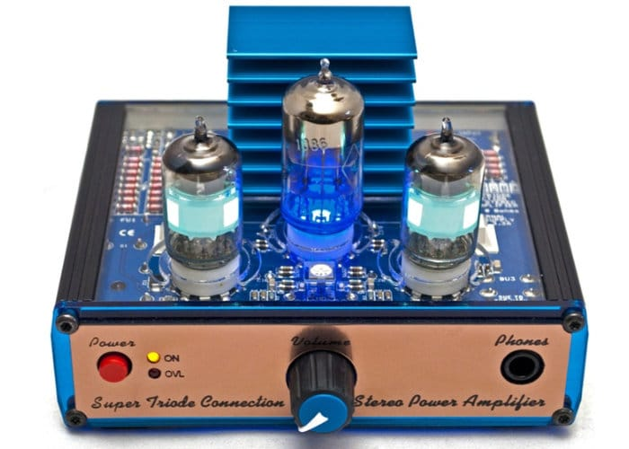 STC Super Triode Connection Power Amplifier Mk II Bausatz