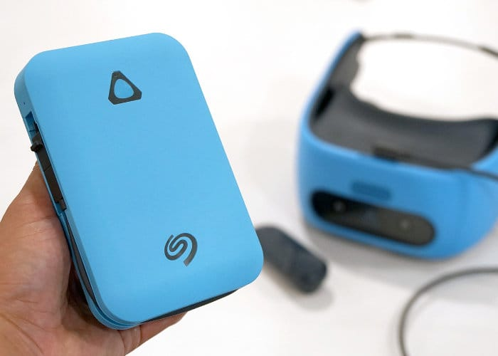Seagate VR Power Drive Designed For The Vive Focus VR Headset