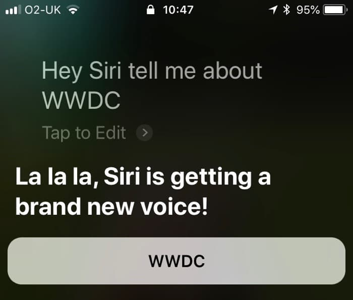 Apple's Siri