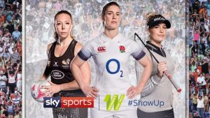 Sky Sports Launches #ShowUp Campaign To Support Women's Sport