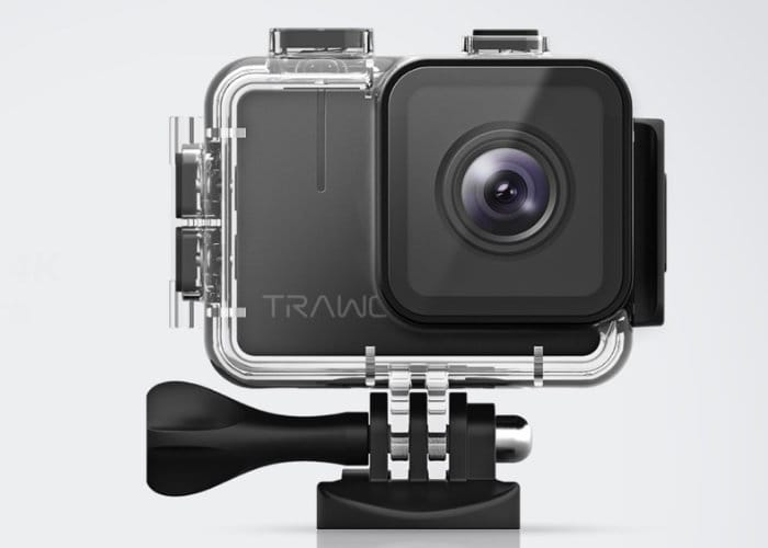 TRAWO 4K Ultra HD Waterproof Action Camera