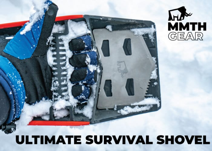 TUSK Ultimate All-In-One Survival Shovel