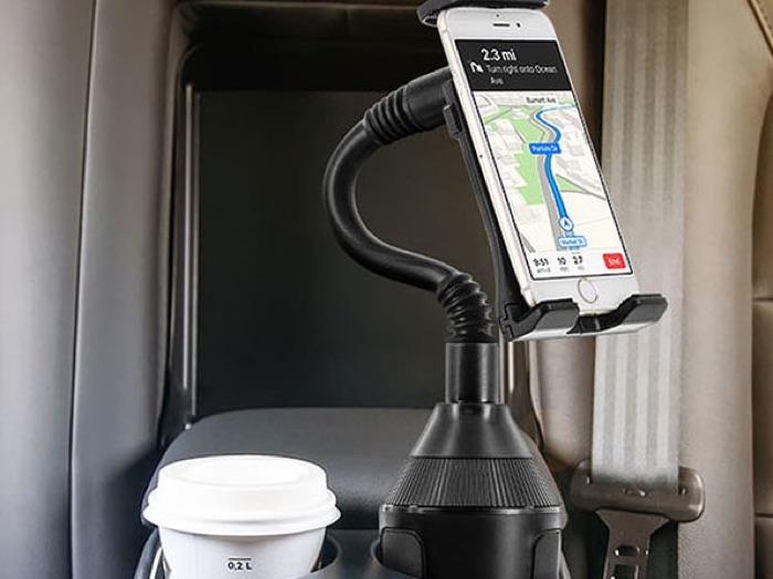U-Grip Cup Holder Car Mount for Phones and Tablets