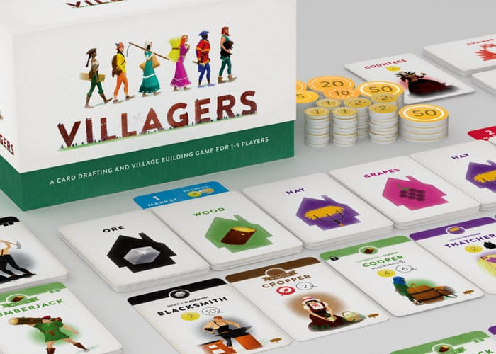 Villagers Card Drafting And Village Building Game