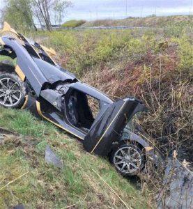 Koenigsegg Agera RS Crashes AGAIN
