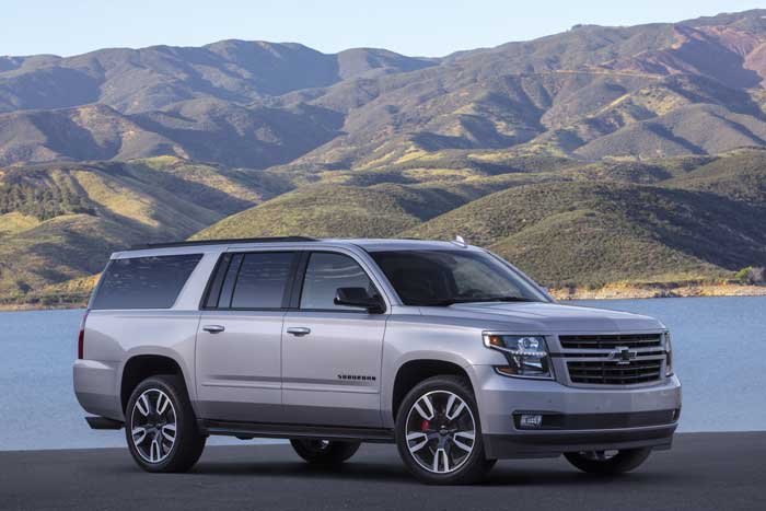 2019 Suburban RST is a Sporty Full-size SUV - Geeky Gadgets