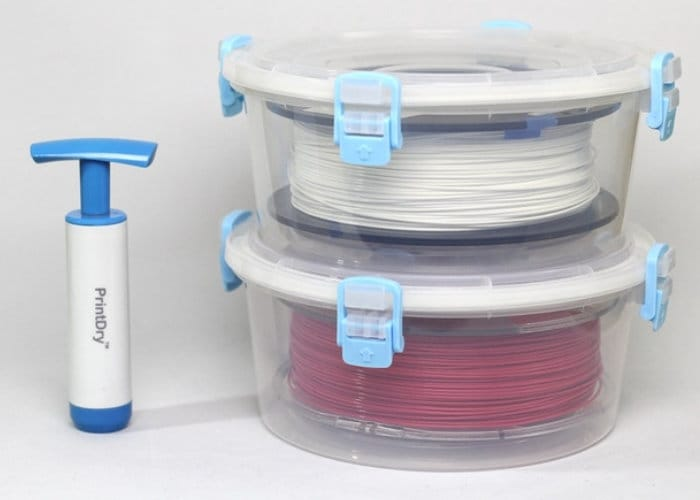 3D Printer Filament Storage Solution