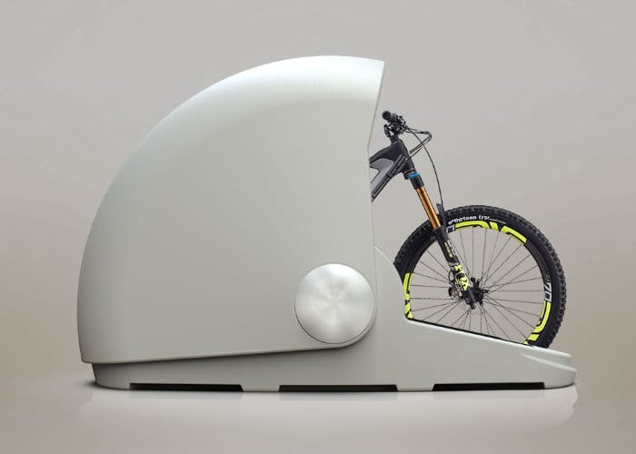 Alpen Bike Capsule, Secure Single Bike Storage
