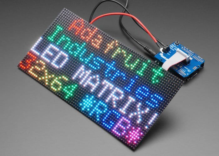 Arduino RGB Matrix Shield