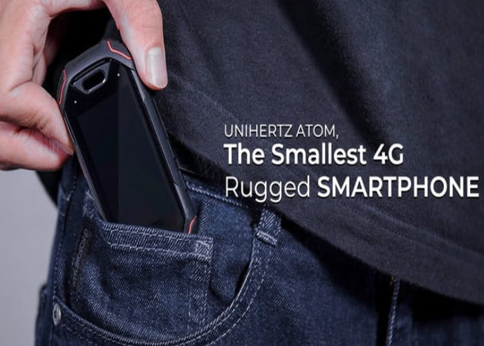 Atom 4G Rugged Pocket Sized Smartphone