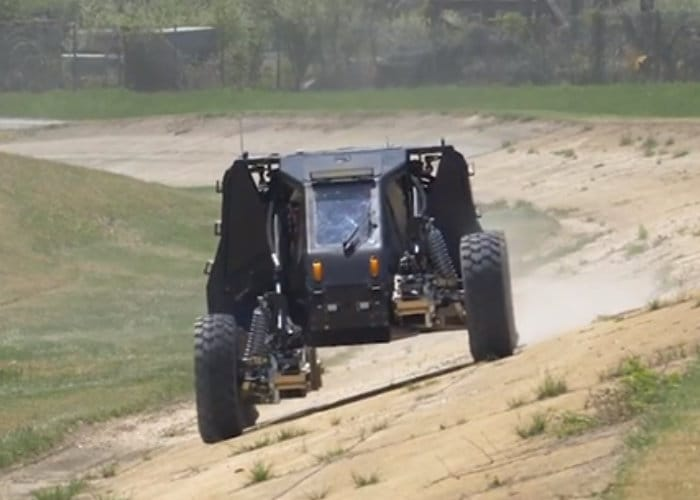 Awesome New DARPA Ground X-Vehicle Technology Demonstrated