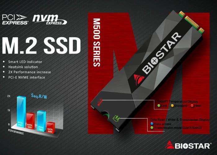Biostar M500 M.2 2280 PCI-Express NVMe SSD