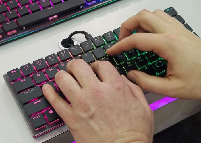 Cooler Master CK620 RGB Wireless Mechanical Keyboard