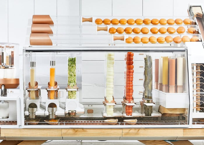 Creator Burger Robot Restaurant