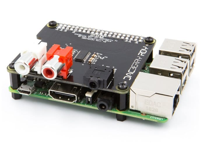 DACBerry RDY Raspberry Pi Sound Card