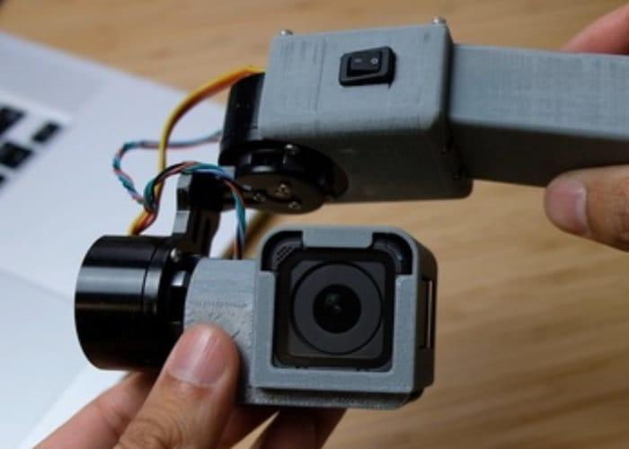 3D Printed DIY GoPro Gimbal