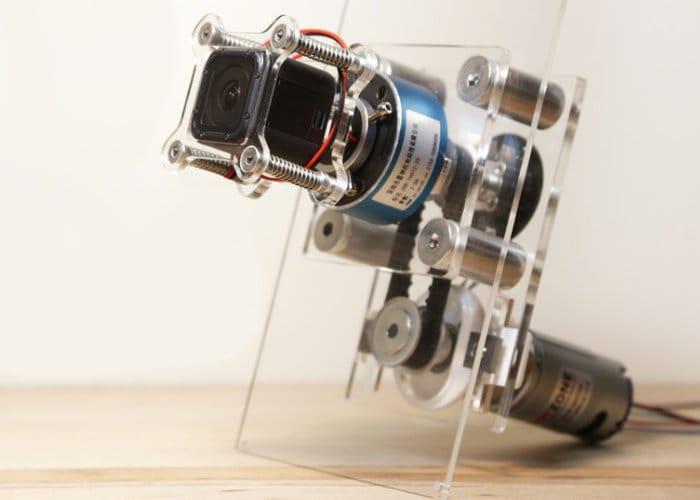 DIY Quickstarter Motorised Camera Spinner