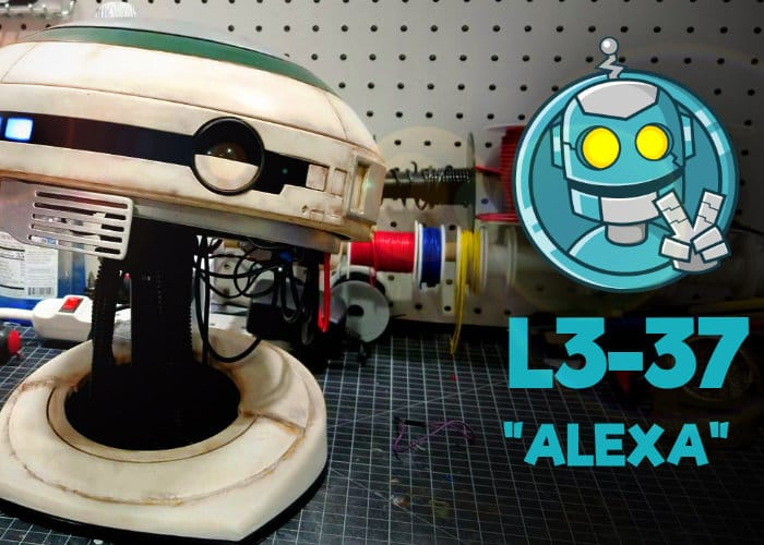 DIY Star Wars L3-37 Droid From Solo