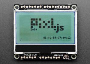 Espruino Pixl.js Small LCD Screen With Javascript Microcontroller