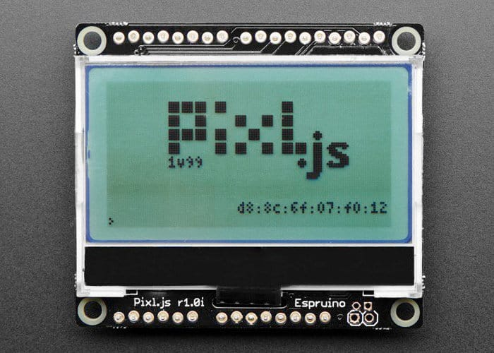 Espruino Pixl.js Small LCD Screen