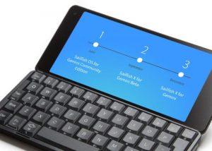 Gemini PDA Now Supports Sailfish OS