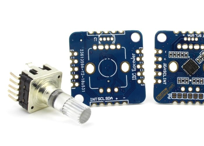 I2C Encoder V2 Lets You Connect Multiple Rotary Encoders