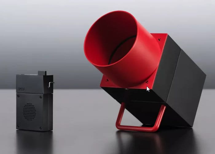 IKEA And Sonos Smart Speaker Prototype