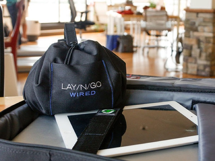 Lay-n-Go Wired Accent Bag