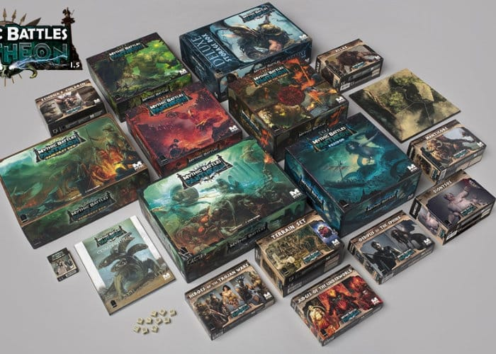 Mythic Battles Pantheon 1.5 Board Game