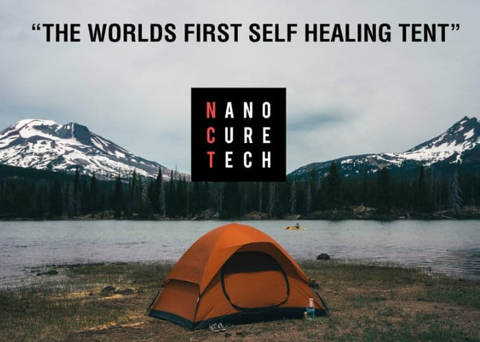 Nano Cure Tent & Nano Cure Tent - The Worldu0027s First Self Healing Tent - Geeky Gadgets