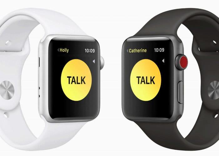 New Apple Watch Walkie Talkie App Arriving With watchOS 5